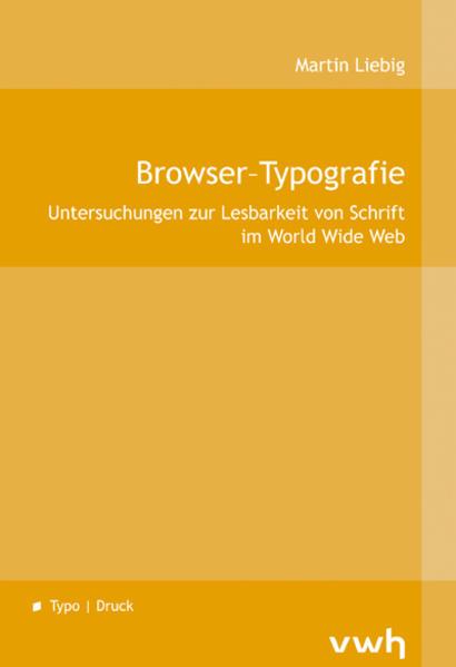 Browser-Typografie - Coverbild
