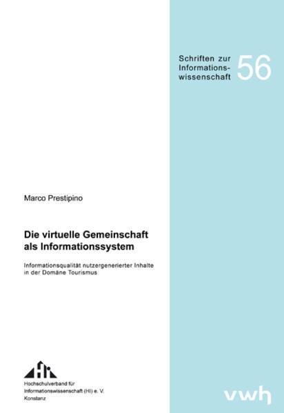 """""""Die virtuelle Gemeinschaft als Informationssystem"""" - PDF MOBI von Marco Prestipino 978-3940317698"""