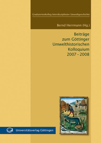 Beiträge zum Göttinger Umwelthistorischen Kolloquium 2007-2008 - Coverbild