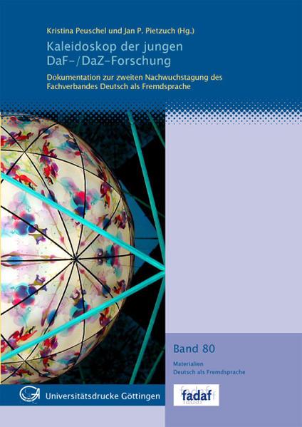 Kaleidoskop der jungen DaF-/DaZ-Forschung - Coverbild