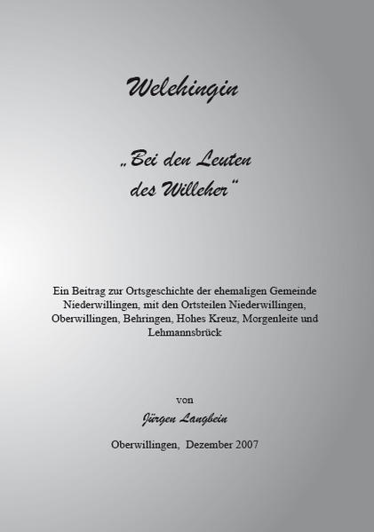 Welehingin - Coverbild