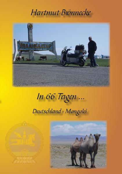 In 66 Tagen mit dem Motorroller nach Ulaan Baatar - Coverbild