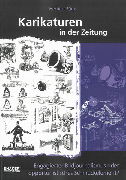 Karikaturen in der Zeitung - Coverbild