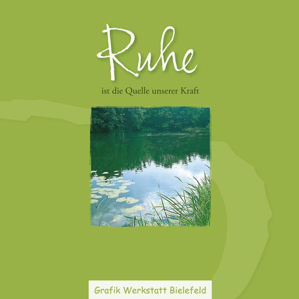 Ruhe - Coverbild