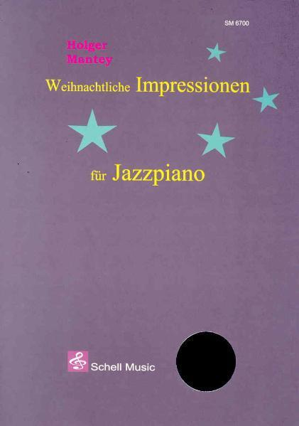 Weihnachtliche Impressionen für Jazzpiano - Coverbild