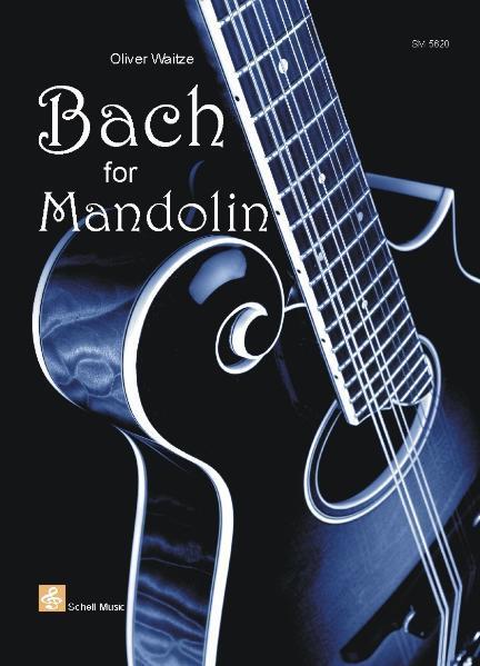 Bach for Mandolin - Coverbild