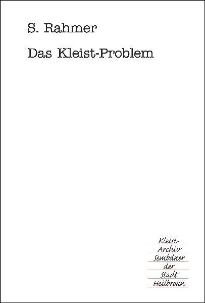 Das Kleist-Problem - Coverbild
