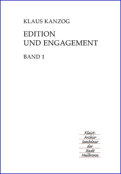 Edition und Engagement - Coverbild