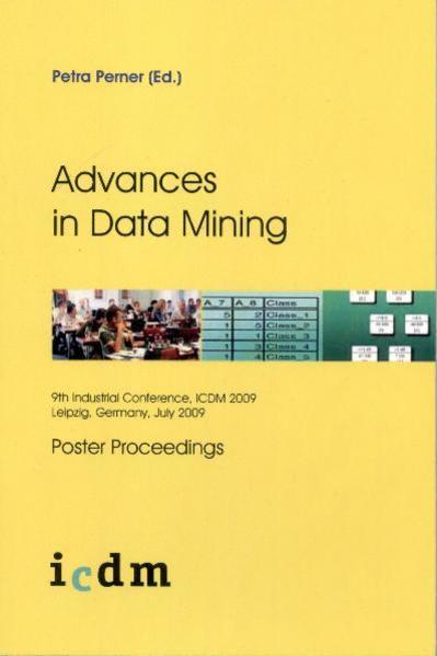 Advances in Data Mining - Coverbild
