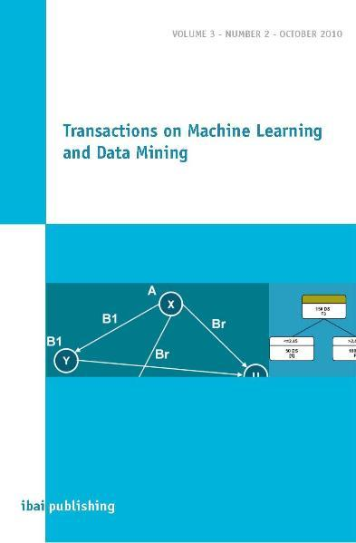 Transactions on Machine Learning and Data Mining - Coverbild