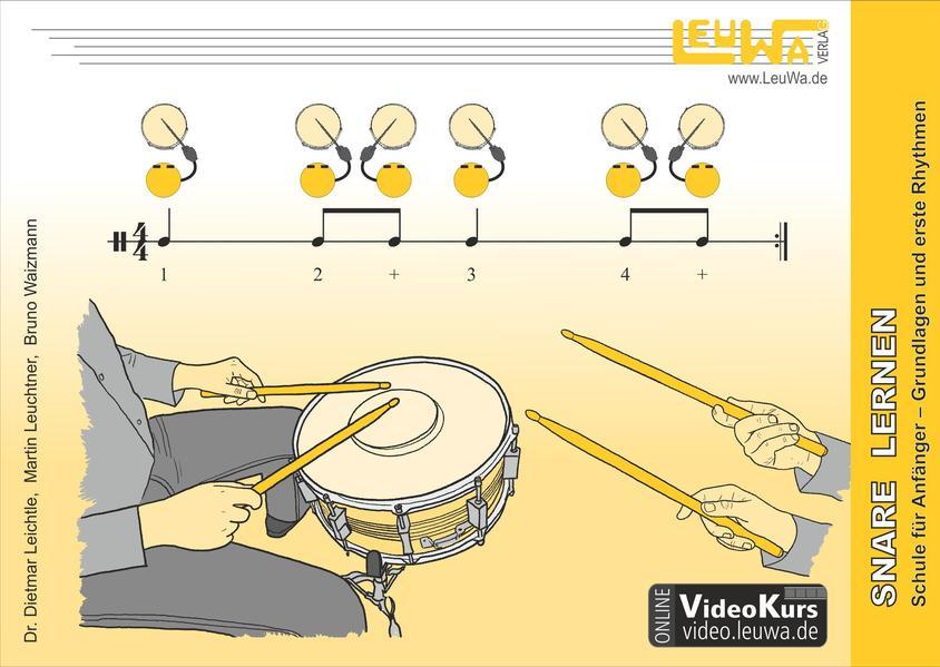 Snare Drum lernen, Schule für Anfänger - Coverbild