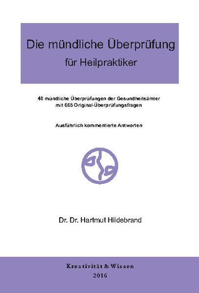 Die mündliche Überprüfung für Heilpraktiker - Coverbild