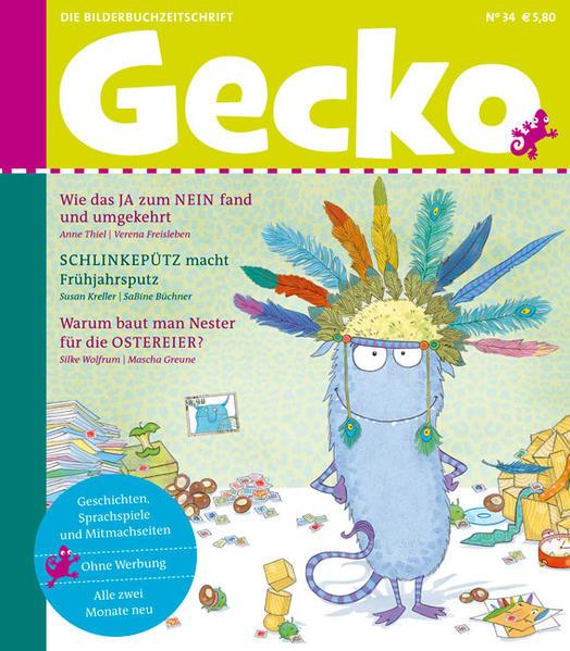 Gecko Kinderzeitschrift Band 34 - Coverbild