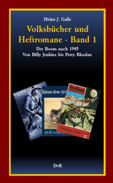 Volksbücher und Heftromane : Band 1 - Coverbild