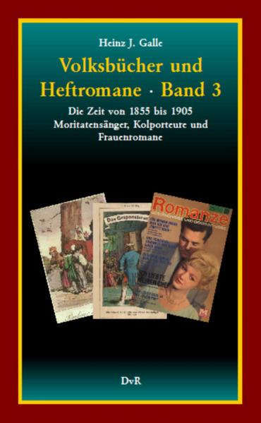 Volksbücher und Heftromane : Band 3 - Coverbild