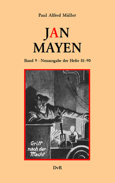 Jan Mayen. Band 9 - Coverbild
