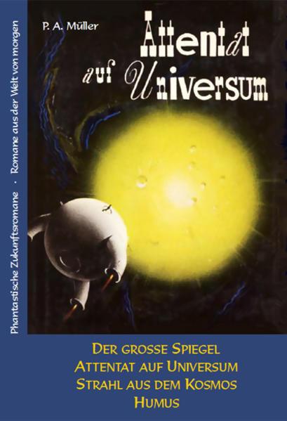 Attentat auf Universum - Coverbild