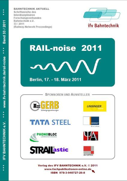 RAIL-noise 2011 - Coverbild