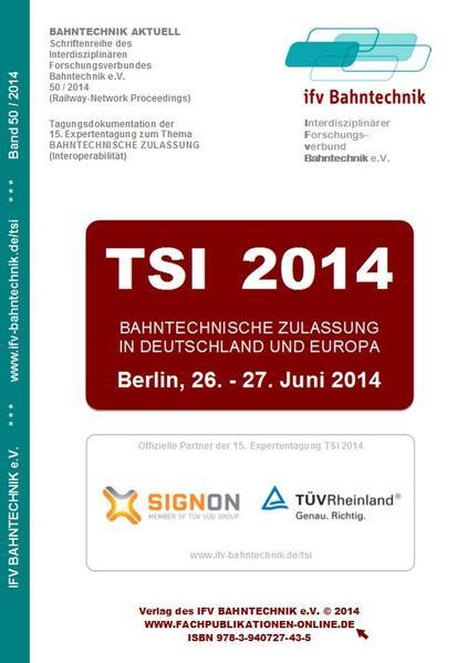 TSI 2014 - Coverbild