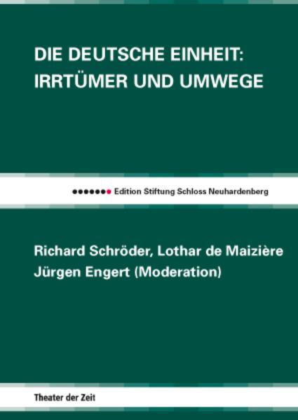 Die Deutsche Einheit - Coverbild
