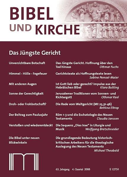 Bibel und Kirche / Das Jüngste Gericht - Coverbild