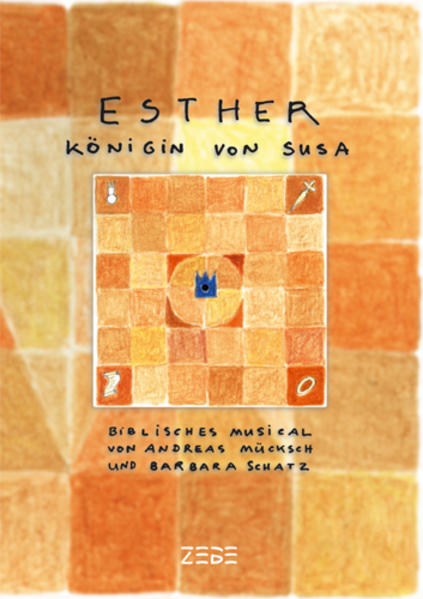Esther, Königin von Susa (Partitur) - Coverbild