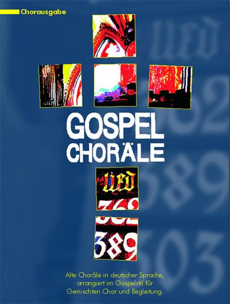 Gospel Choräle, Gesangsausgabe - Coverbild