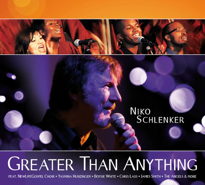 Greater Than Anything (CD) - Coverbild