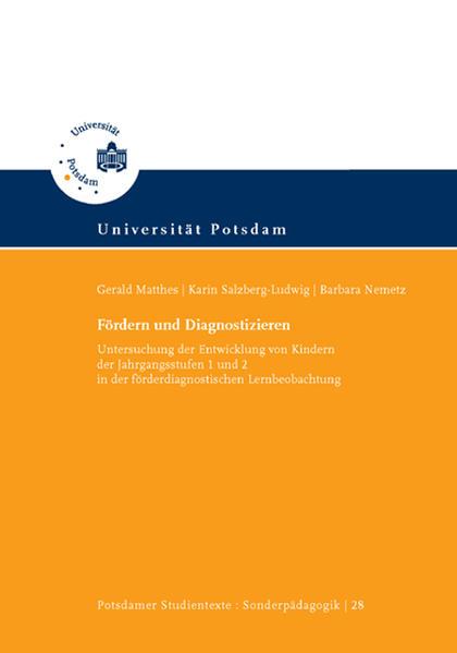 Fördern und Diagnostizieren - Coverbild