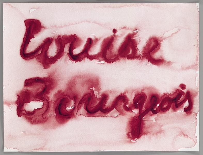 Louise Bourgeois - Coverbild