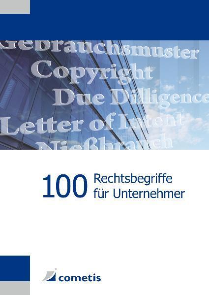 100 Rechtsbegriffe für Unternehmer - Coverbild