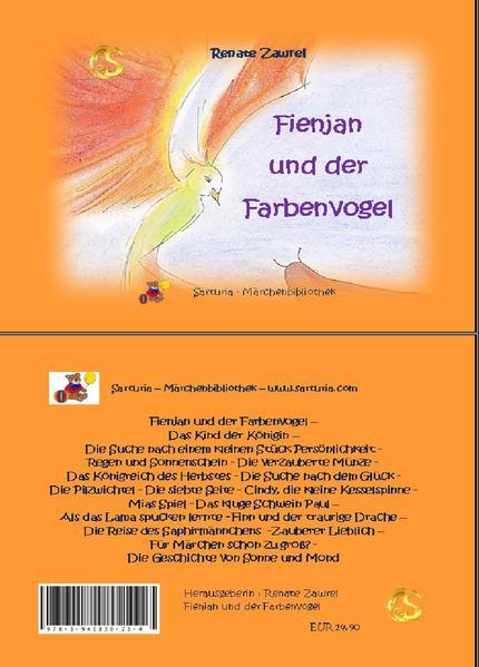 Fienjan und der Farbenvogel - Coverbild