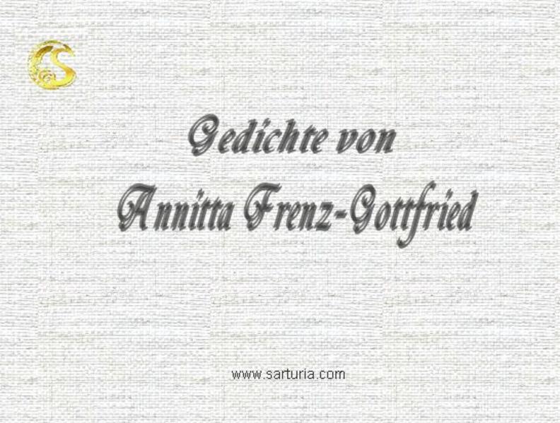 Gedichte von Annitta Frenz-Gottfried - Coverbild