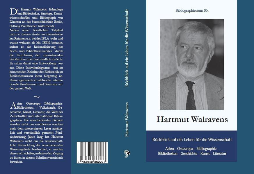Rückblick auf ein Leben für die Wissenschaft: Asien-Osteuropa, Bibliographie Bibliothek, Geschichte, Kunst und Literatur - Coverbild