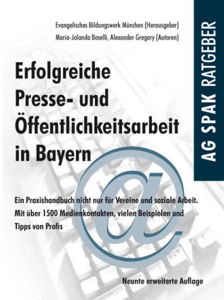 Erfolgreiche Presse- und Öffentlichkeitsarbeit in Bayern - Coverbild