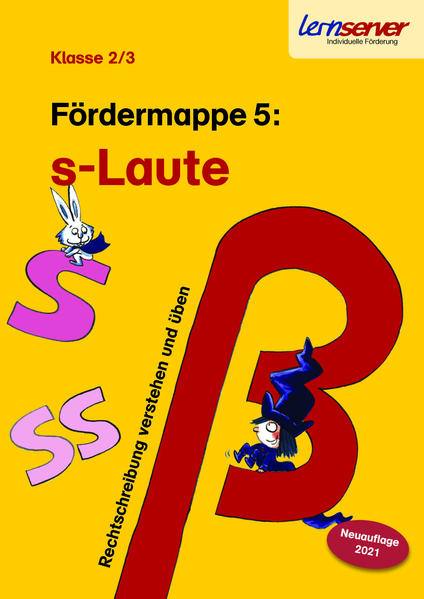 Lernserver-Fördermappe 5: S-Laute - Coverbild