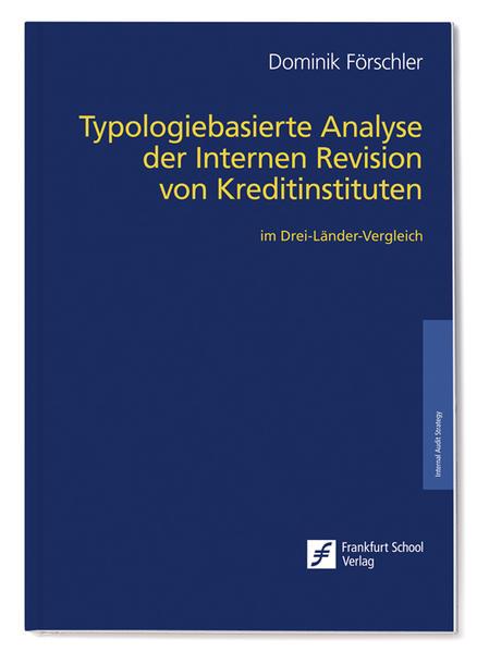 Typologiebasierte Analyse der Internen Revision von Kreditinstituten - Coverbild