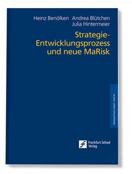 Strategie-Entwicklungsprozess und neue MaRisk - Coverbild
