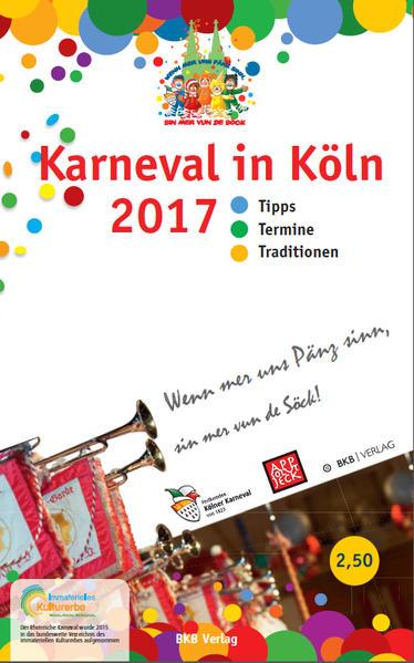 Karneval in Köln 2017 - Coverbild