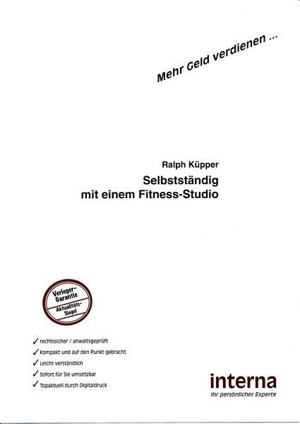 Selbstständig mit einem Fitness-Studio - Coverbild
