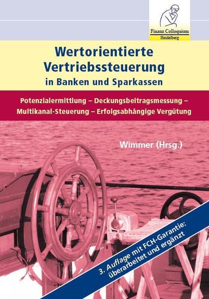 Wertorientierte Vertriebssteuerung in Banken und Sparkassen - Coverbild