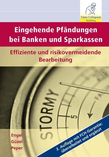 Eingehende Pfändungen bei Banken und Sparkassen, 3. Auflage - Coverbild