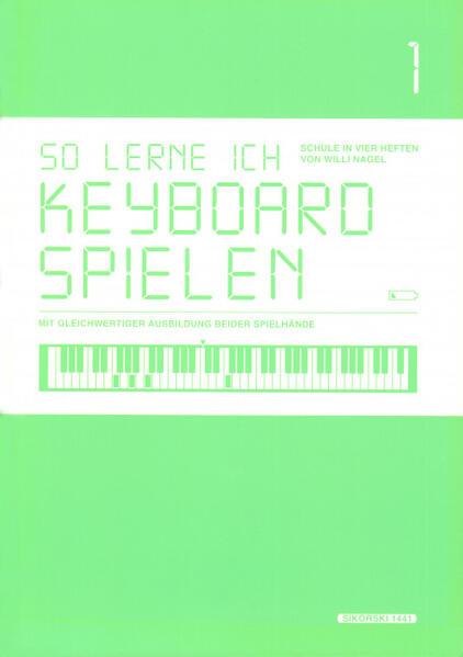 So lerne ich Keyboard spielen, Band 1 - Coverbild