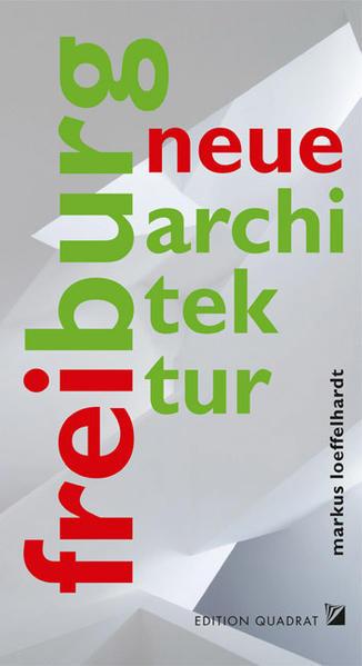 Neue Architektur. Freiburg - Coverbild