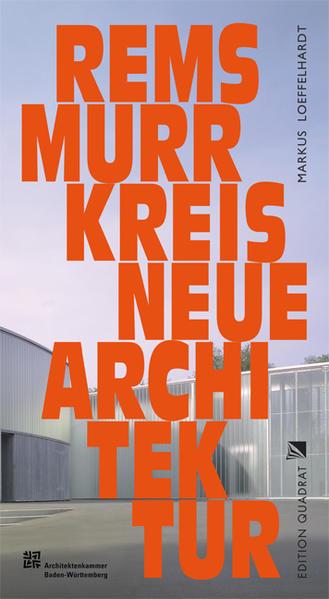 Neue Architektur. Rems-Murr-Kreis - Coverbild