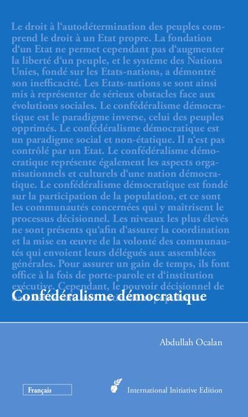 Confédéralisme démocratique - Coverbild