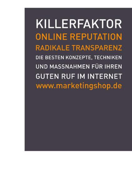 Killerfaktor Online Reputation - Coverbild