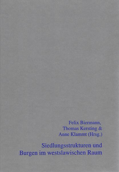 Siedlungsstrukturen und Burgen im westslawischen Raum - Coverbild