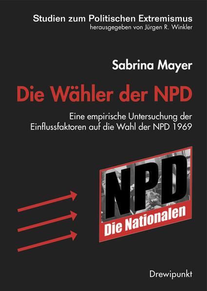 Die Wähler der NPD - Coverbild