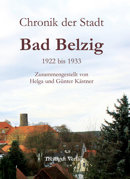 Chronik der Stadt Bad Belzig - Coverbild
